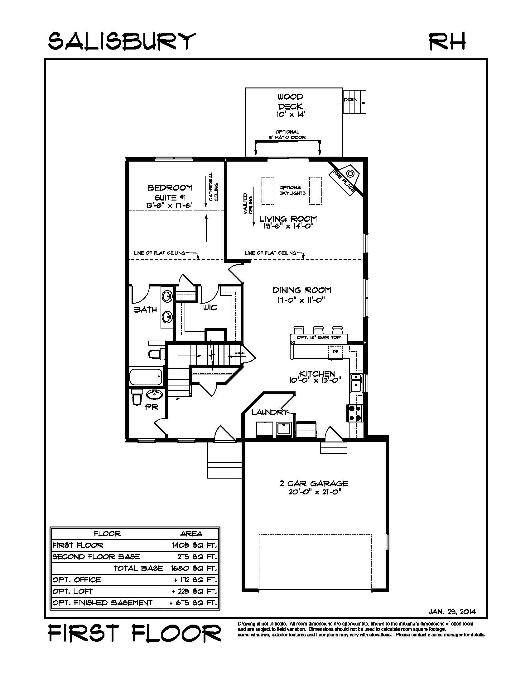 100 1st Floor Master Floor Plans House Plan W2627